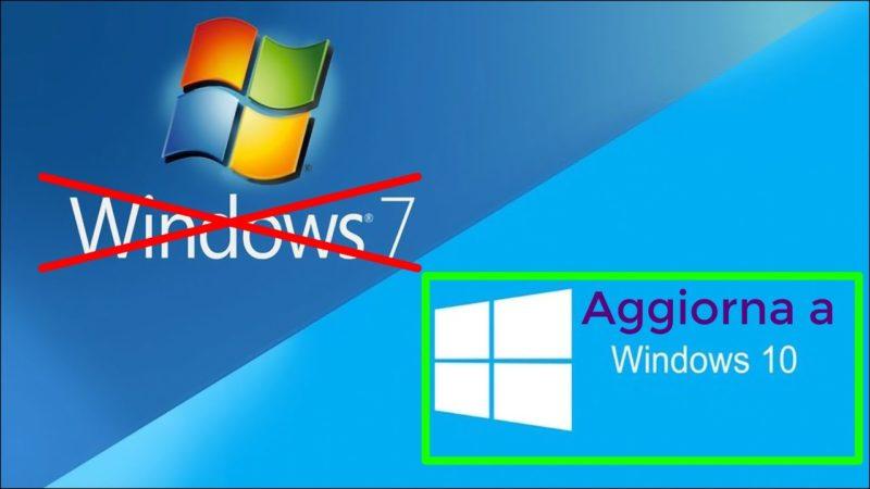 Windows 7 il supporto di Microsoft termina niente più aggiornamenti