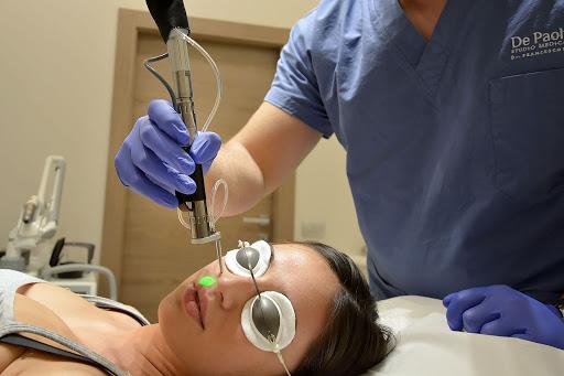 Tecnologia laser per lo studio della medicina, oggi impiegata in vari campi
