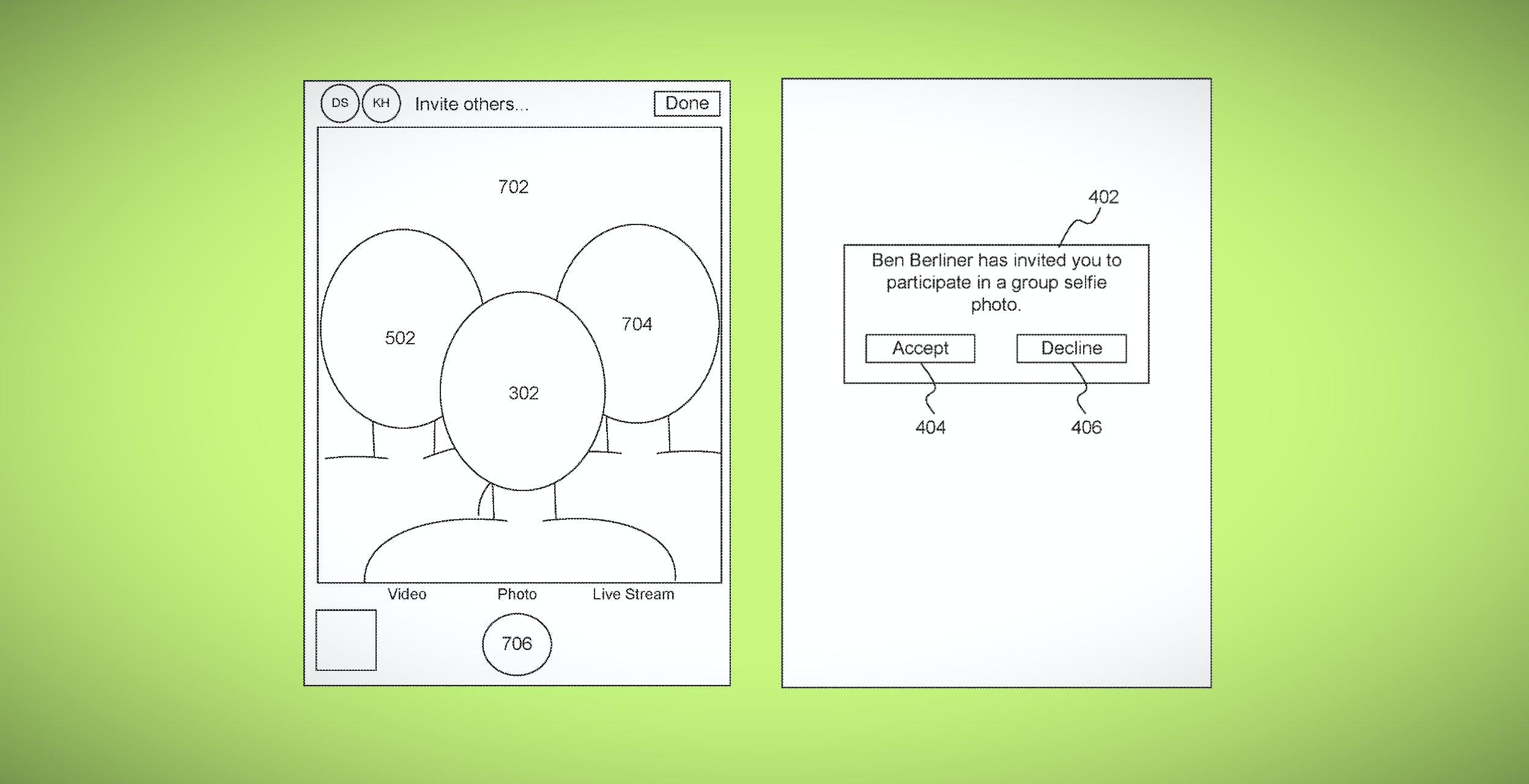 Apple arriva il nuovo brevetto per scattare i selfie sintetici