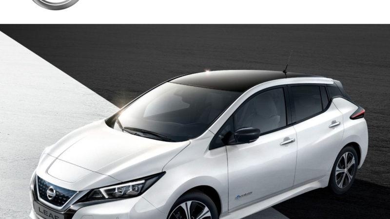 Auto elettriche, l'idea arriva da Nissan e la tenuta di strada è al top