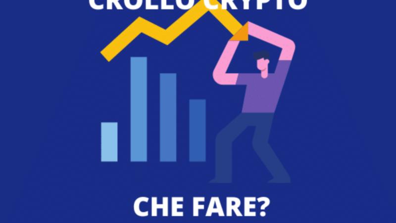 Crollo prezzo bitcoin, cosa sta succedendo alla criptovaluta mondiale